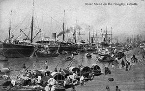 Bombay Victoria Harbour in 1900