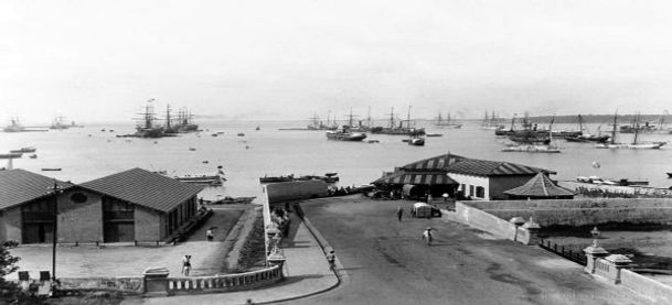 Colombo Harbour in 1890s