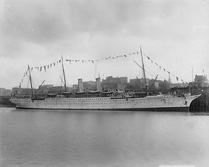 RMS Empress of India at Vancouver
