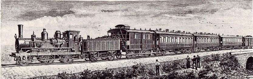 The first Orient Express in 1883