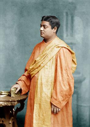 Swami Vivekananda in London in 1896