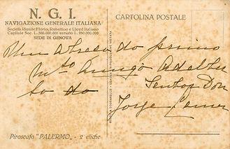 An Italian Line (NGI) Memento