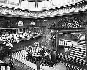 The grand interior of La Touraine