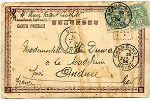 Mail transported by Prinz Regent Luitpold