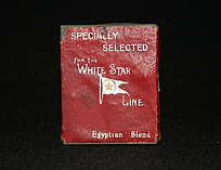 Cigarette Tin from White Star Line Ship