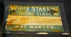 White Star Line Luggage Sticker