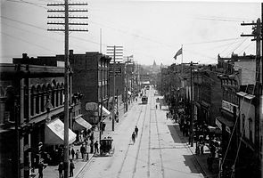 Vancouver during 1890s