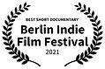 BEST SHORT DOCUMENTARY - Berlin Indie Fi