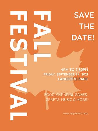 Orange Maple Leaf Fall Festival Poster.png