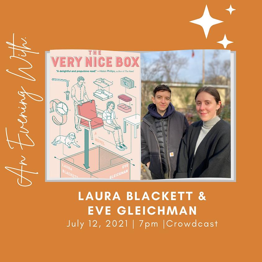 Author Talk, Laura Blackett & Eve Gleichman