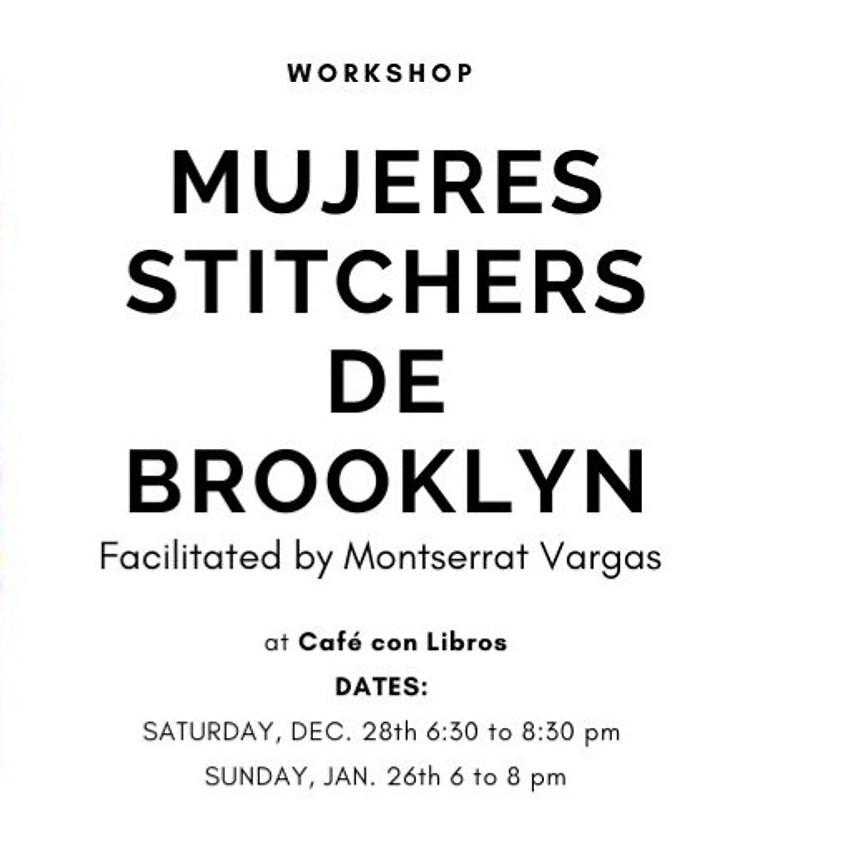 Mujeres Stitchers de Brooklyn