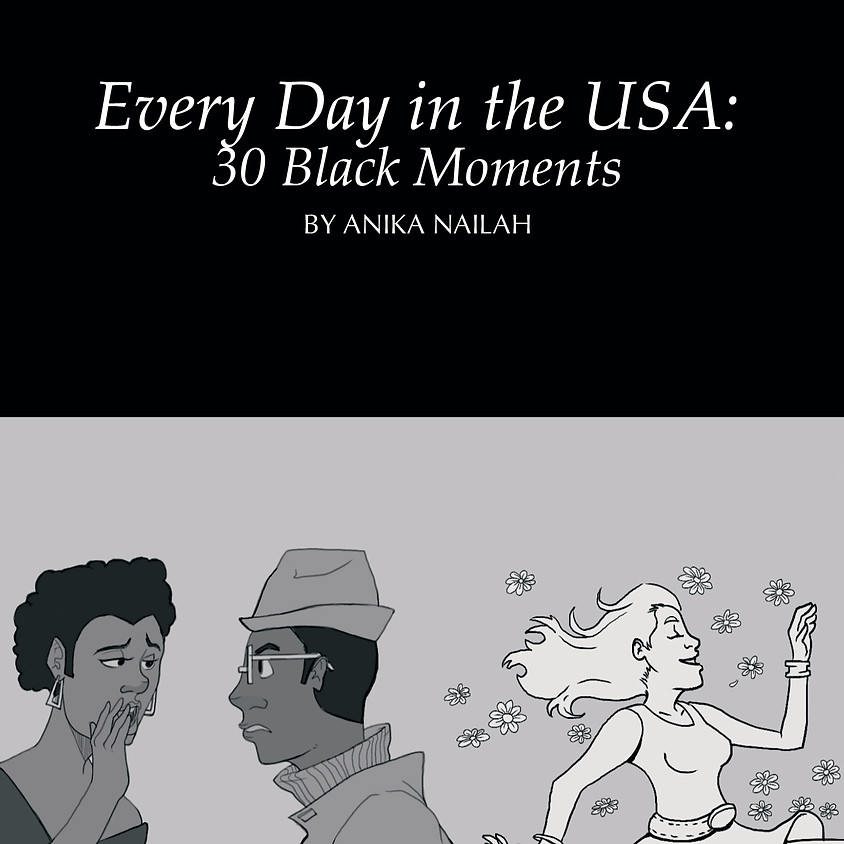 Reading, Signing, and Discussion: Every Day in the USA: 30 Black Moments