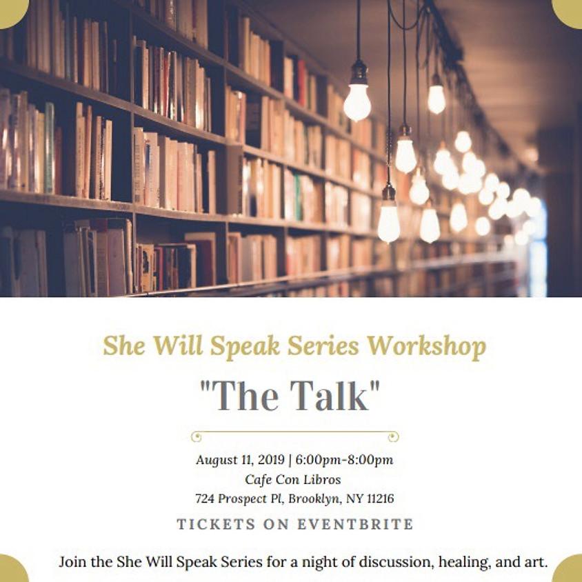 She Will Speak Series