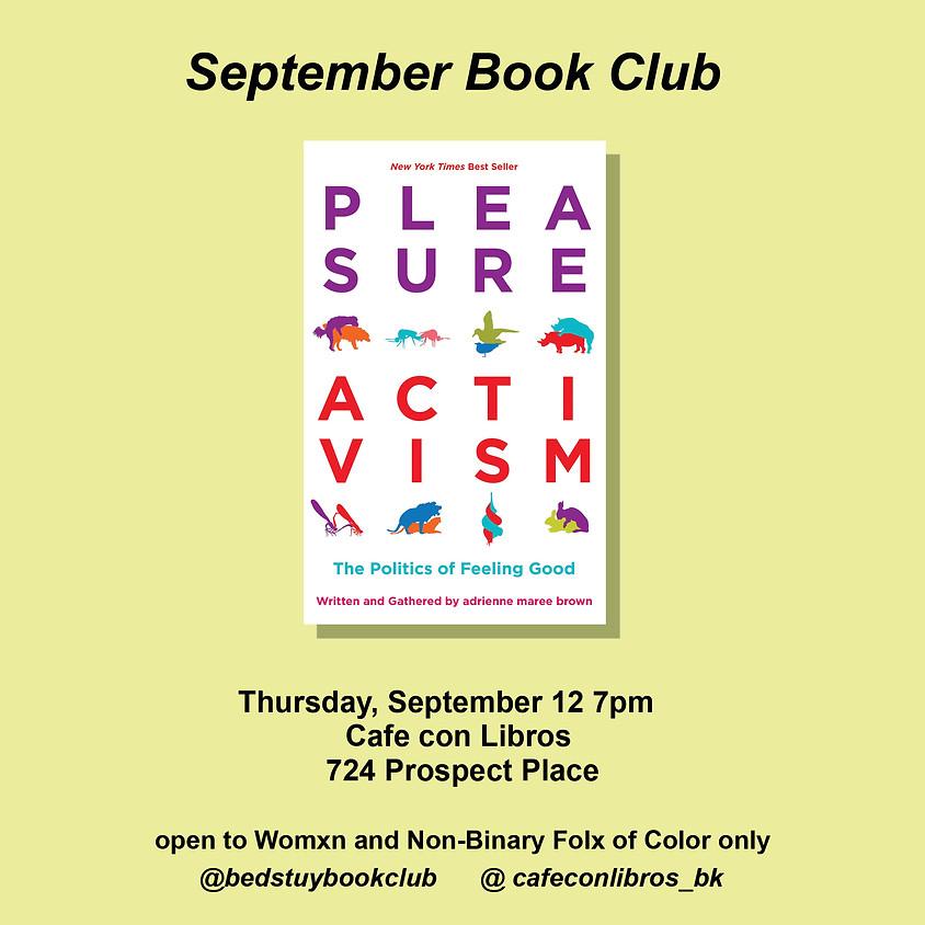 Pleasure Activism | BedStuy Book Club Collab