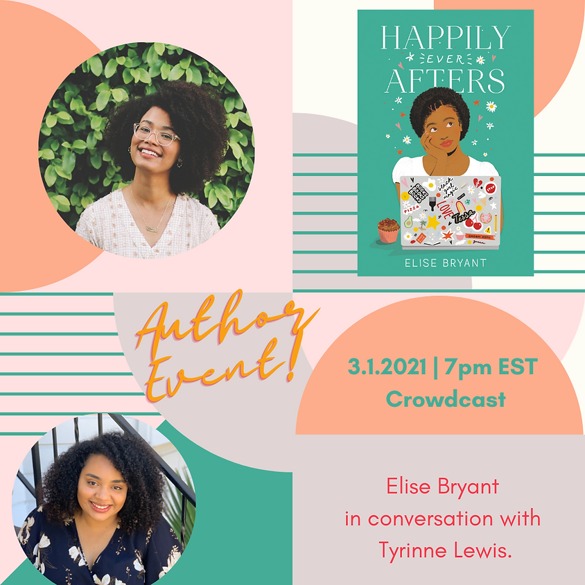 Author Event: Happily Ever Afters with Elise Bryant