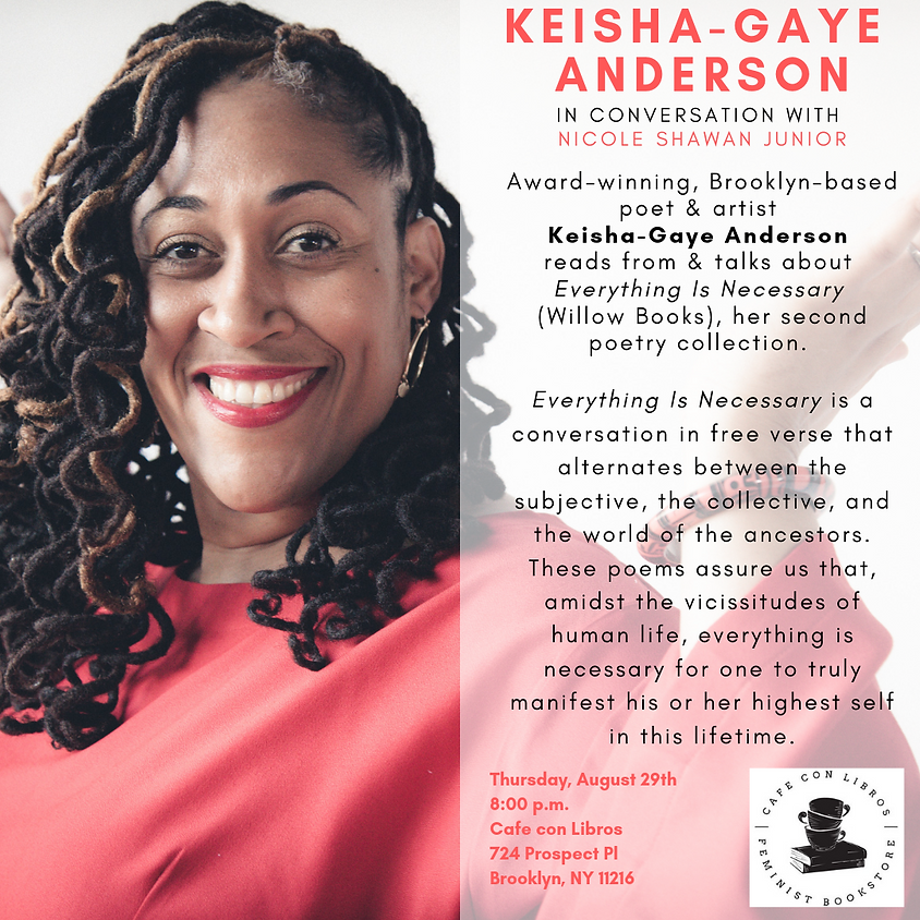 Fireside Chat with Keisha-Gaye Anderson