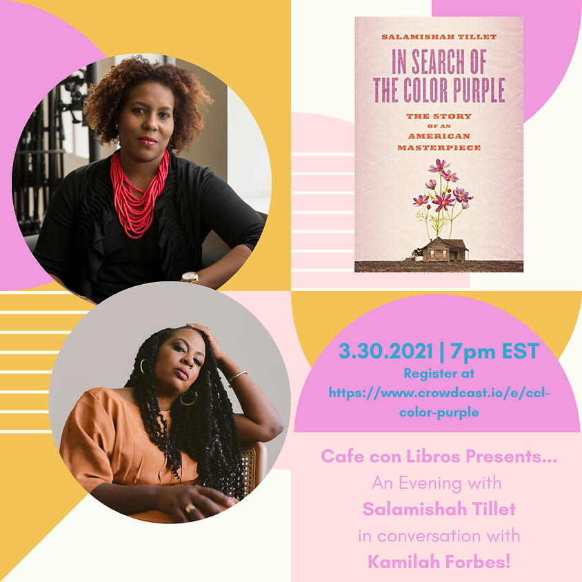 Author Event : In Search of the Color Purple