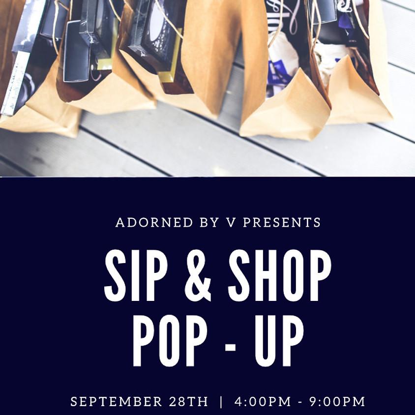 Sip & Shop Pop Up