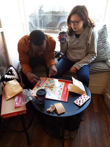 Scrabble Saturdays