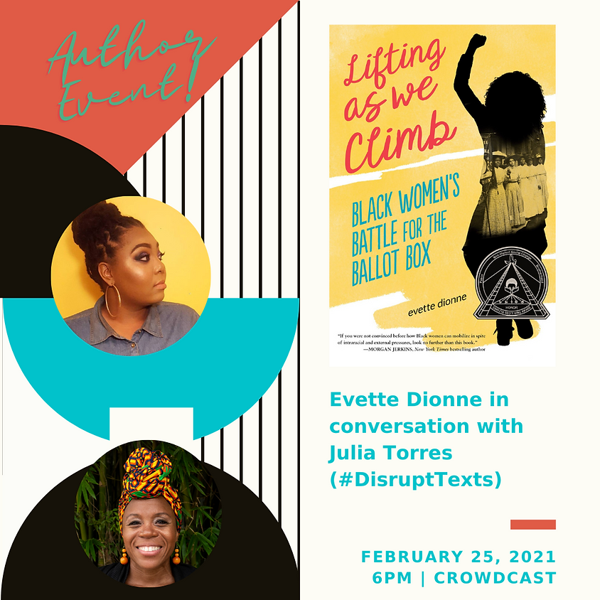 Author Event: Lifting As You Climb: Black Women's Battle for the Ballot Box