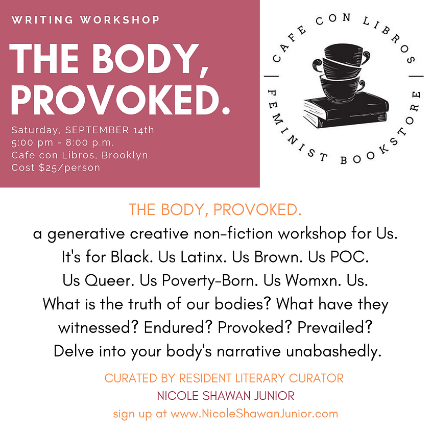 The Body, Provoked.
