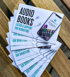 audiobooks, support our bookstore.jpg