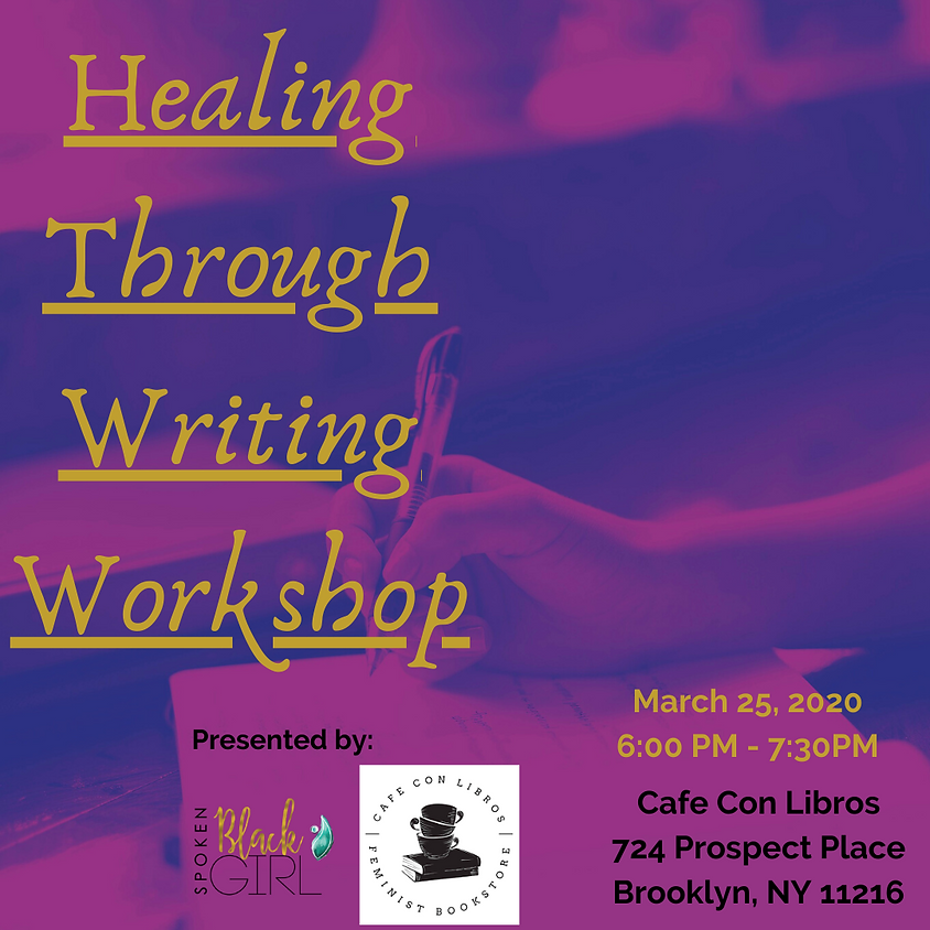 Healing Through Writing Workshop