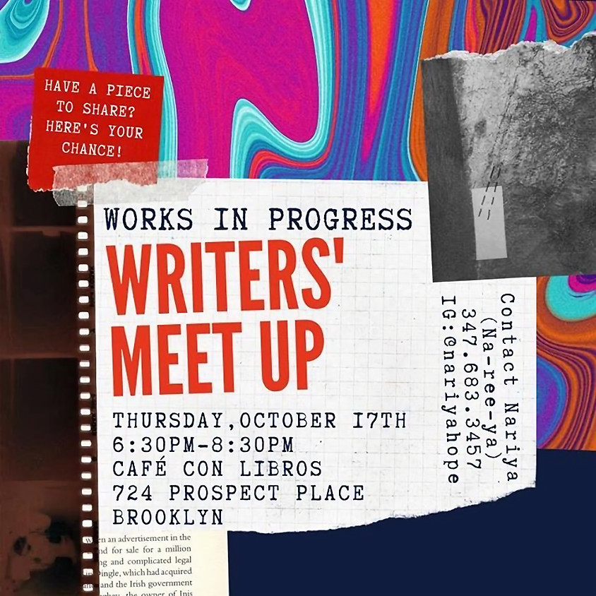 Writers' Meet Up