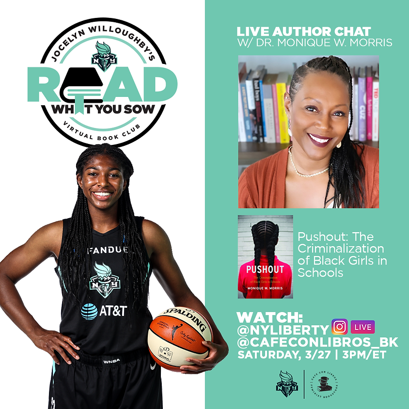 """""""Read What You Sow"""" Author Talk with Dr. Monique Harris"""