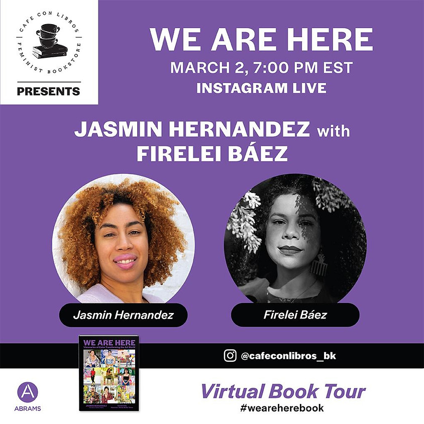 Author Event: WE ARE HERE: VISIONARIES OF COLOR TRANSFORMING THE ART WORLD