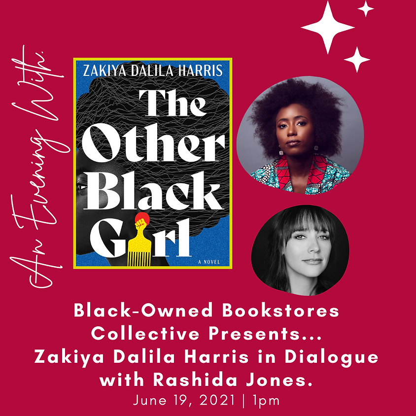 Author Talk, Zakiya Dalila Harris, The Other Black Girl