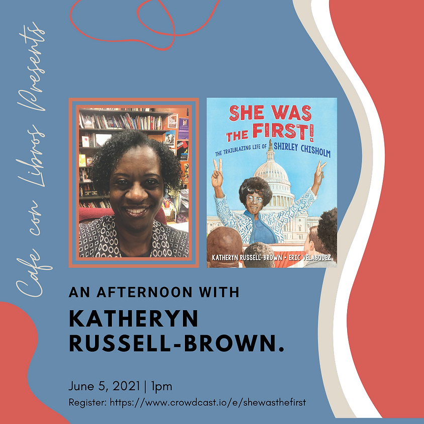 """Author Talk: """"She Was the First"""" with Katheryn Russell-Brown"""
