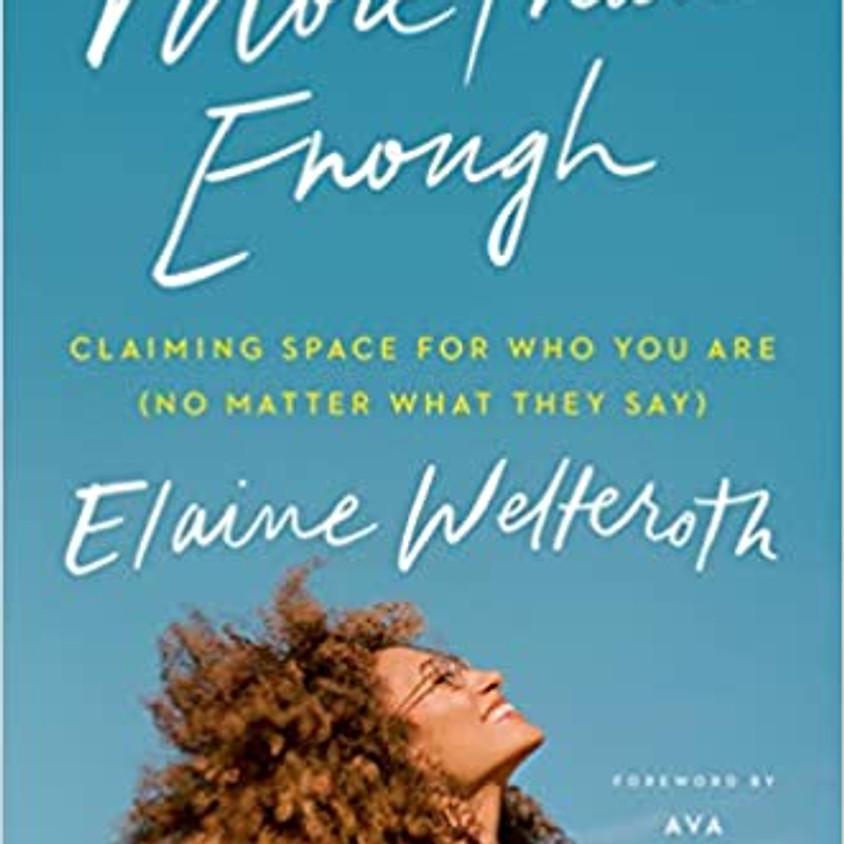 WoC Book Club: More Than Enough