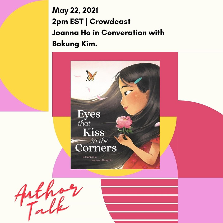Author Talk: Eyes That Kiss In The Corners