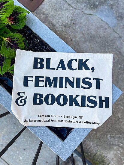 Black, Feminist, Bookish Tote