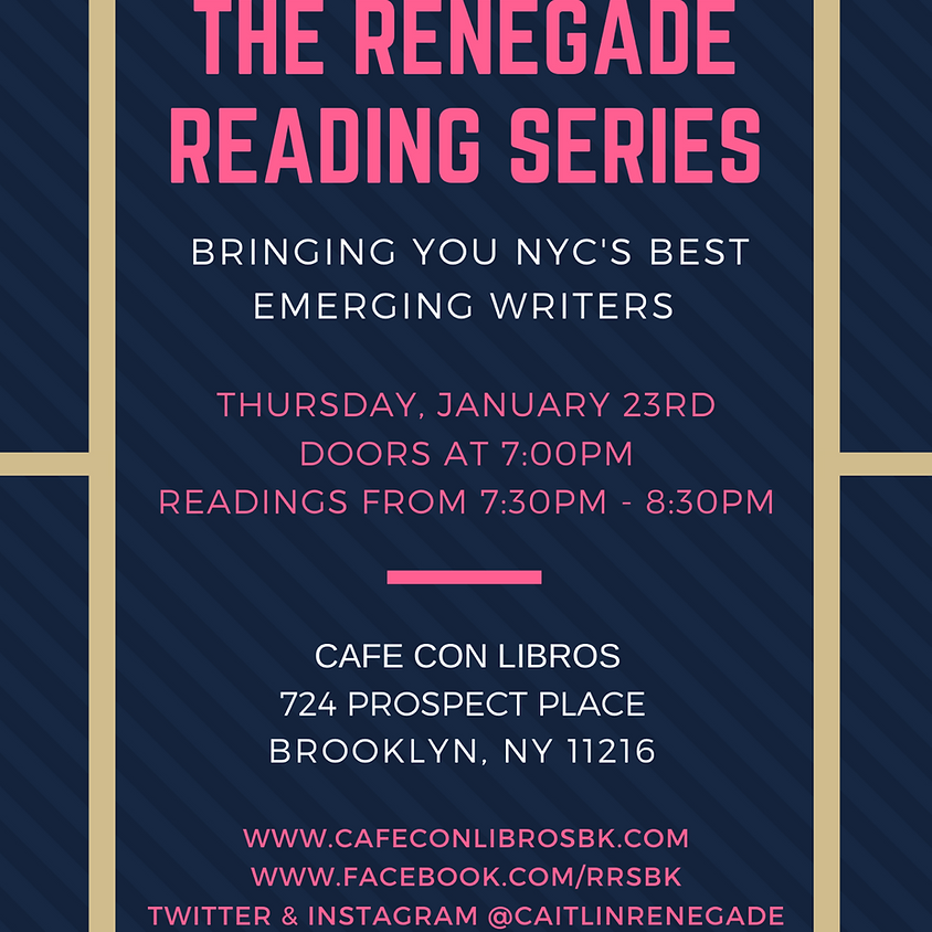 Renegade Reading Series
