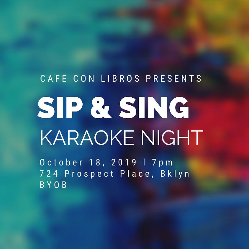 Sip & Sing