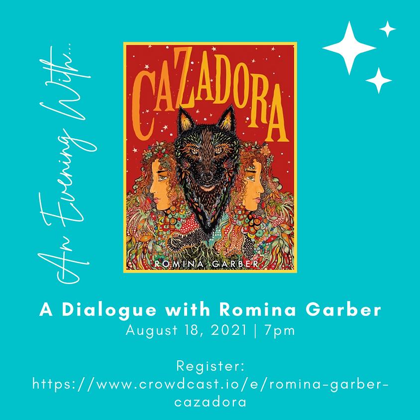 Cazadora | Romina Garber in conversation with Neal Shusterman