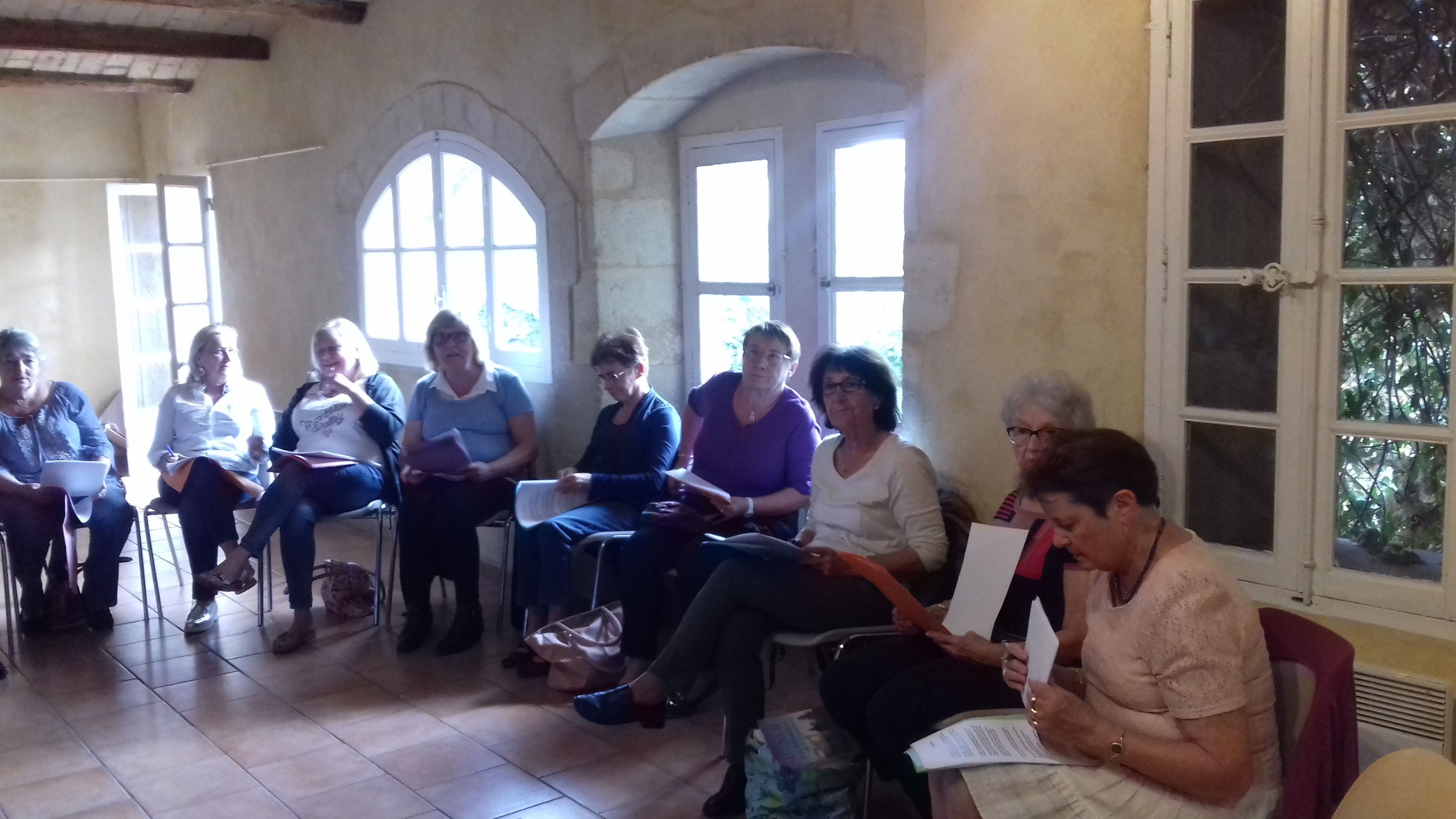 Atelier Chant Gallargues