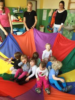 Cvičení v mateřském centru