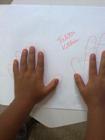 Ativ. Educativa Tamanho das Mãos 2