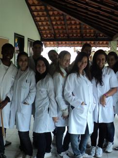 Treinamento em Antropometria alunos de Nutrição UFRJ