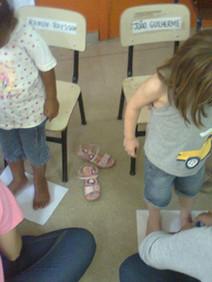 Ativ. Educativa Tamanho dos pés