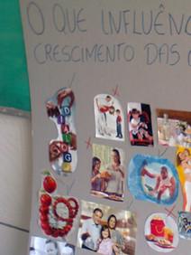 Material produzido em oficina com pais e familiares