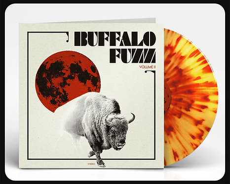 Buffalo Fuzz II Blood Fossil Splatter Vinyl