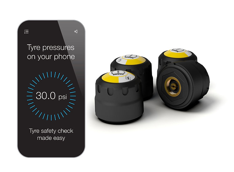 4-WiCap smart wireless tyre pressure monitoring system