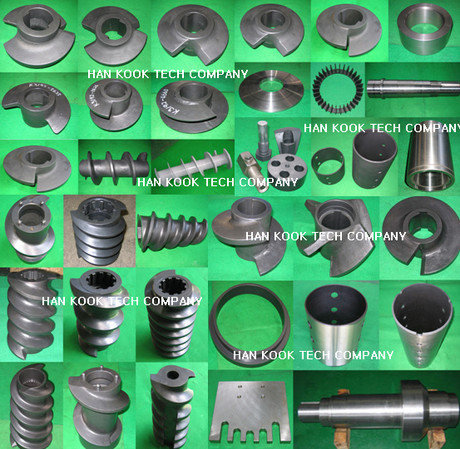 Hankook Tec _ Feed screw extruder parts