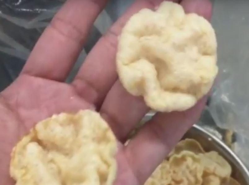 chip de pellets de patata
