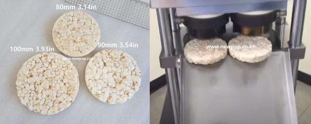 SYP9002 popped cake machine