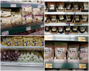 rice cake at supermarket